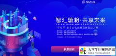 """""""智汇潇湘·共享未来""""数字文化创意创新创业大赛"""