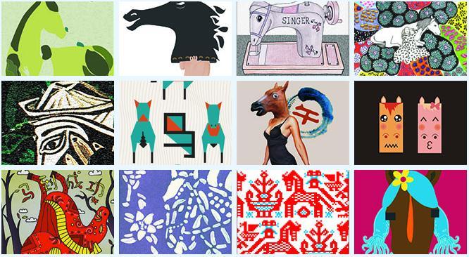 2014亚洲大学生生肖文化创意设计大赛图片